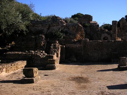 Roman remains, Tipasa par Bachir