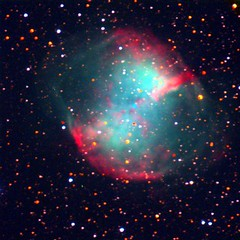 M27 - The Dumbell Nebula - by Astro Guy