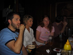 Matt, Sandra and Juliette (visioncity) Tags: people chicago beer bar fun cool pub university uofc ws wasniowski visioncity