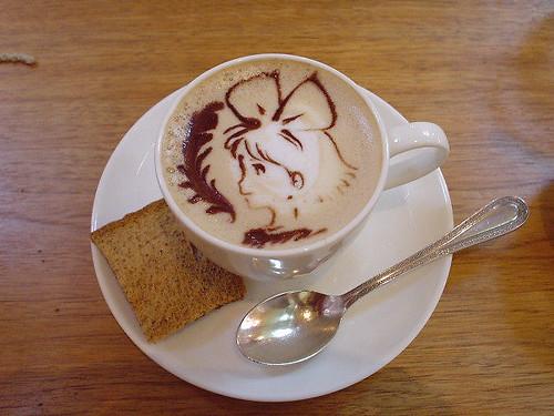 Ghibli museum coffee