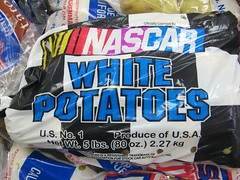 NASCAR potatoes
