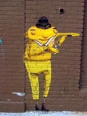 shady (justiNYC) Tags: street nyc urban streetart art brooklyn graffiti paint williamsburg sart justinyc archeaology