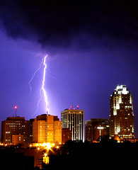 Raleigh Lightning Storm - July 19 (Ocell) Tags: storm skyline clouds interestingness1 raleigh p lightning portfolio p1 p2