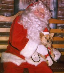 Santa and Rusty