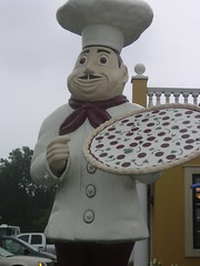 Giant Pizza Man
