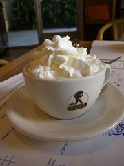 Jinky's Hot Chocolate (sfPhotocraft) Tags: jinkys chocolate cup cream la santamonica losangeles yum