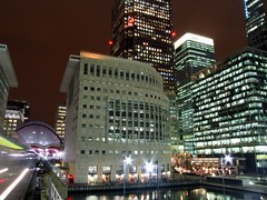 Canary Wharf, London (John Wallace Photography) Tags: london night underground transport tube irishphotos jwallace johnew johnwallace