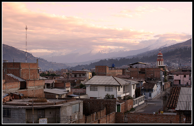 Dawn in Huaraz