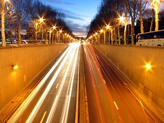 Parisenne Tunnel Trails (John Wallace Photography) Tags: nightphotography paris france night eiffel irishphotos jwallace johnew johnwallace