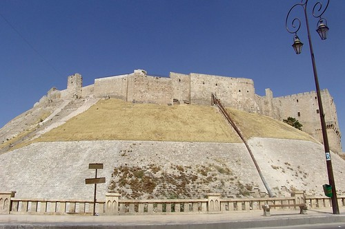 Syria - The Citadel in Aleppo