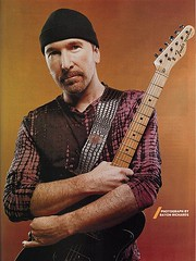 Edge portrait, Guitar World (atu2) Tags: edge u2 guitarworld september2005