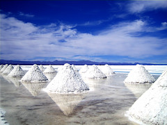 Salt Mounds (DIgital DI) Tags: blue sky white wow bravo searchthebest been1of100 cream most crop fv10 viewed salardeuyuni