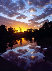 Torrens Sunset 1 (inaudible) Tags: leica sunset panorama clouds river lenstagged australia adelaide southaustralia torrens leitz50f2summicron