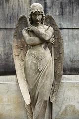 Statue in Recoleta necropolis (Bruno Girin) Tags: argentina buenosaires recoleta cemetery necropolis statue