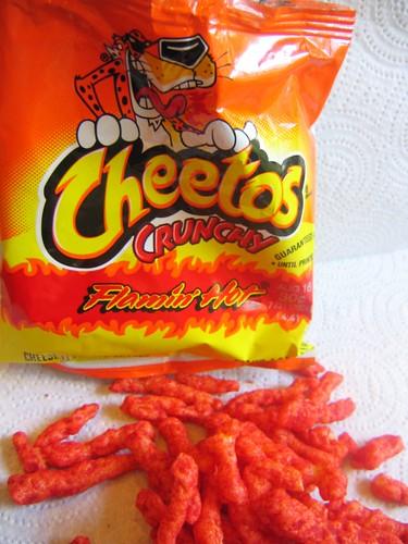 chips - cheetos flamin hot