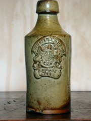 William Hodgson. Preston 1866 (Colonel Blink) Tags: colonelblink bottle bottles earthenware antique vintage stoneware old logo trademark preston williamhodgson victorian slipglaze