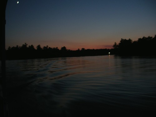 Photo water sunset kawartha