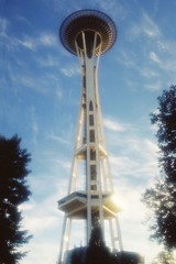 Space Needle (CoachCashMoney) Tags: deleteme travel scenery skyscrapers blue clouds filter deleteme2 deleteme3 deleteme4 deleteme5 deleteme6 deleteme7 deleteme8 deleteme9 deleteme10