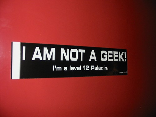 I'm not a geek...