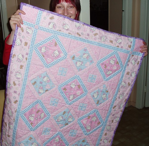 hello kitty quilt. Hello Kitty Quilt (Set)