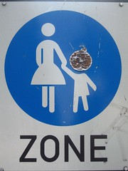 Bombing Zone (raumoberbayern) Tags: blue white black sign topv111 graffiti topv555 topv333 sticker findleastinteresting topv1111 politics topv999 suicide topv444 pedestrian topv222 terror topv777 bomb topv666 bombing zone peril topv888 robbbilder badhomburg urbanfragments topf5 fussgnger