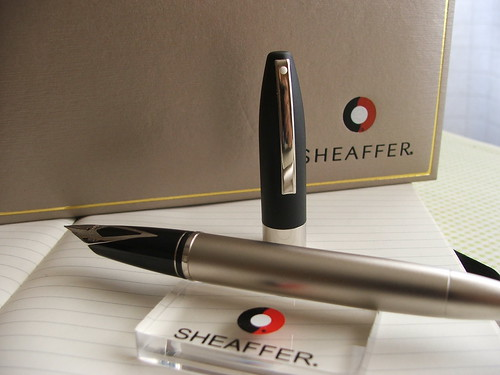 Sheaffer Legacy 2 on stand