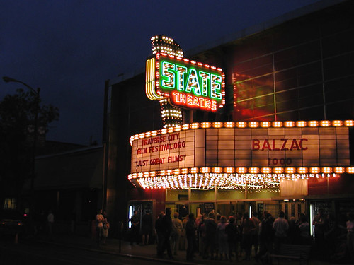 State Theater at Night by farlane on Flickr