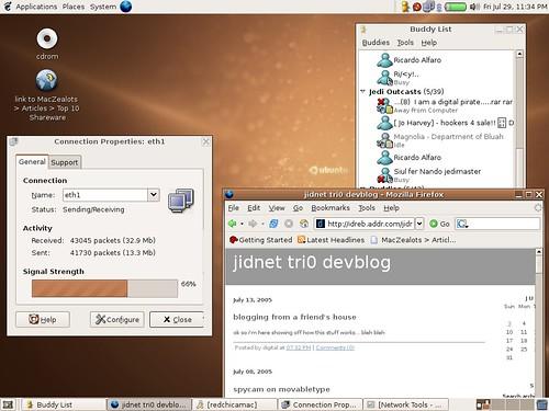 Ubuntu on my iBook