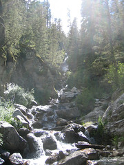 Bottom of the North Fork Falls