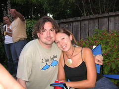 Me and Susan (nfolkert) Tags: party july23 barbecue