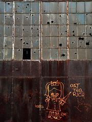 Eat the Rich (Matt Niemi) Tags: wall kids graffiti rust pittsburgh urbandecay lawrenceville ripkids
