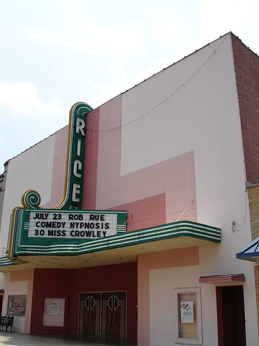 Rice Theater, Crowley LA