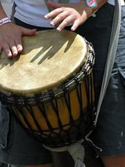 Cadence Carroll Djembe #14 (O Caritas) Tags: 2005 newyork festival hands shadows drum djembe july musicfestival hillsdale nikoncoolpix8800 falconridge frff2005 falconridgefolkfestival frff cadencecarroll copyright2011bypatricktpowerallrightsreserved