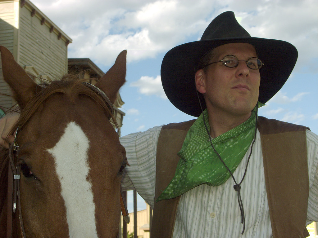 Dan Westergren -- photo editor or cowboy