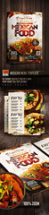 Mexican Menu Template (AndyDreamm) Tags: bar brochure burritos cafe deliver dinner fastfood food foodtruck latin menuflyer menupsd mexican mexicanfoodflyer mexicanfoodmenu mexicanmenu mexicanrestaurantmenu mexico monkeybox restaurant rustic streetfood tacos