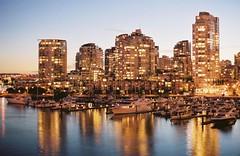 City Lights: Vancouver