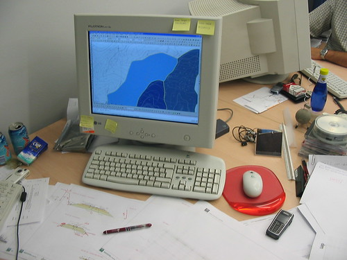 Mesa de Trabajo por JuanJaen, en Flickr