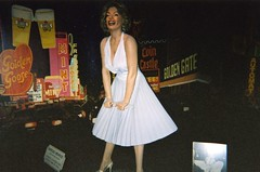 Rather unconvincing Maralyn Monroe waxwork