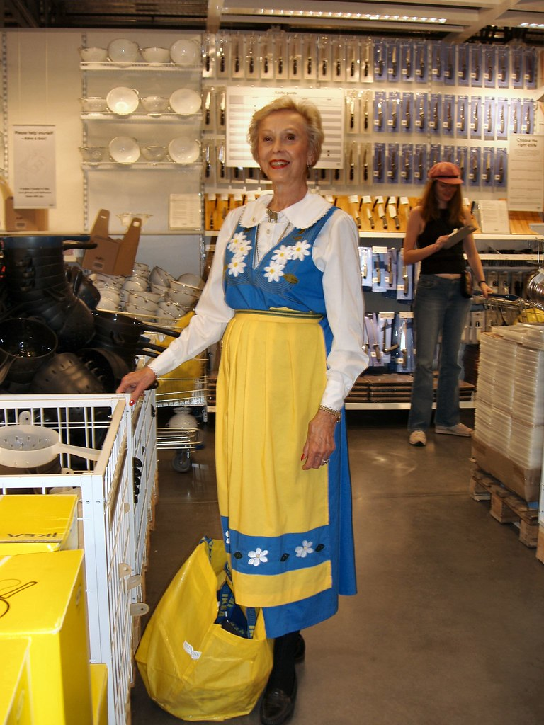 Traditional outfit:  IKEA opens in Frisco, TX: Granddaughter of Swedish Immigrants to Austin, TX