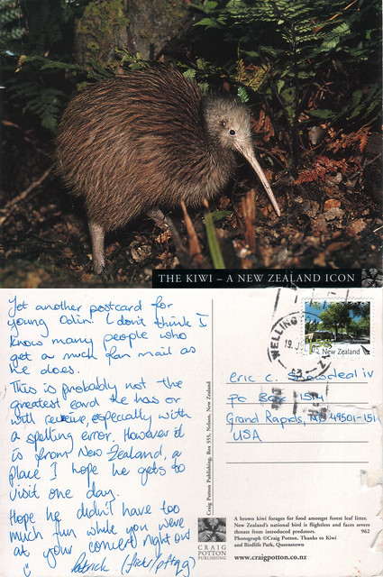 the postcard project wellington new zealand by snowdeal