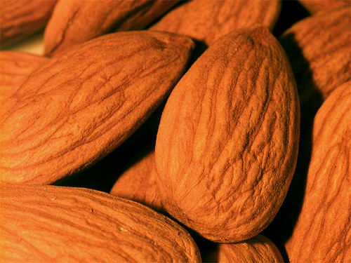 Photo- Almonds are a health snack
