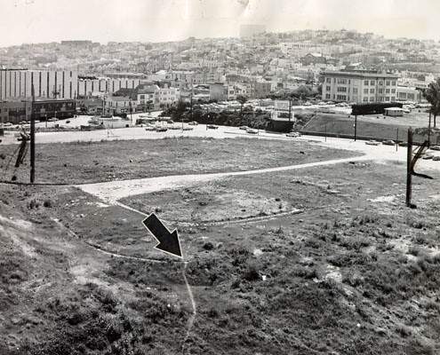 The Ruins of Seals Stadium, 1964