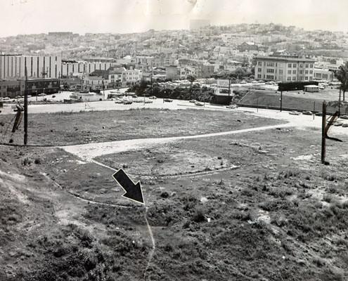 The Ruins of Seals Stadium, 1964