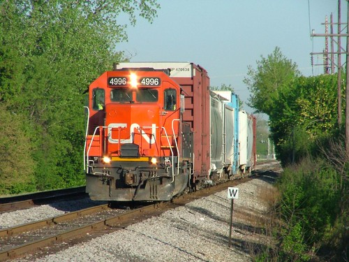 Canadian National #4996, North Riverside, IL.