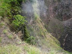 Smoke gets in your eyes... lalala (Naifla Iniaz) Tags: mountbatur batur bali lakebatur danaubatur