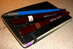 drawing kit staedtler leadholder clutch pencil rotring isograph pens moleskine penpencilbrushink