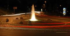 Feuerspucker (powerbook.blog) Tags: night nacht fountain fontne bielefeld germany springbrunnen langzeitbelichtung lights lichter