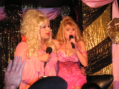Two great drag queens, together at last (xander76) Tags: heklina charo trannyshack tranny dragqueen drag sanfrancisco geotagged geolat37772743 geolong122410163