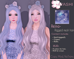 [^.^Ayashi^.^] Reina hair special for A Winter Solstice (Ikira Frimon) Tags: rigged hud anime m3 utilizator nice head mesh ayashi doll outfit hair blogger costume frimon ikira follow post blog fashion sl life second event girl beautifully special exclusive tsg kawaii kawai cute hairs sensuality lovely sexually cosplay long quiff forelock bang bobbypin barrette crown diadem flowers reinahairspecialforawintersolstice reina awintersolstice winter solstice