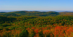 View from Summit Peak (SpringChick) Tags: statepark autumn trees forest landscape michigan scenic michiganparks upperpeninsula random2 porcupinemountains random1 summitpeak porkies ontonagoncounty specland